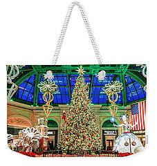 The Bellagio Christmas Tree Panorama 2017 Weekender Tote Bag