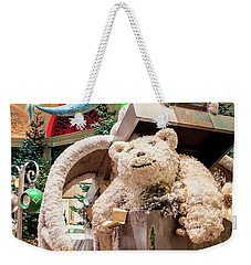 The Bellagio Conservatory Polar Bear Christmas Decorations 2017 Weekender Tote Bag