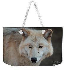 The Big Beautiful Wolf Weekender Tote Bag