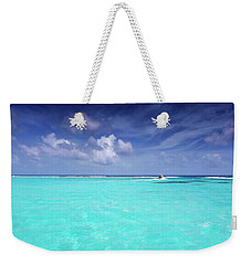 The Big Blue Weekender Tote Bag