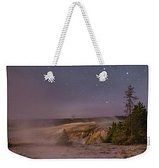 The Big Dipper In Yellowstone National Park Weekender Tote Bag