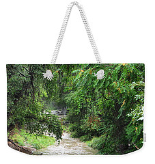 The Big Ditch Of Silver City Has A Story Weekender Tote Bag by Natalie Ortiz