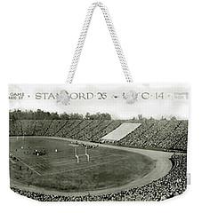 Stanford And U Of C 1925 Weekender Tote Bag