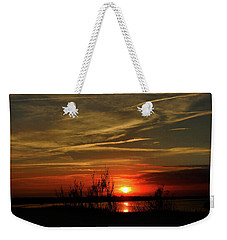 Weekender Tote Bag featuring the photograph The Big Picture by Laura Ragland