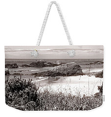 The Big Rock And The Pacific Weekender Tote Bag