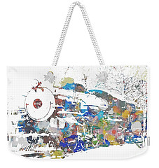 The Big Train Weekender Tote Bag