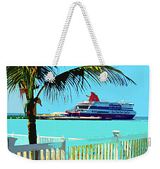 The Bimini Boat Weekender Tote Bag