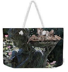The Bird Bath Weekender Tote Bag