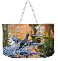 The Birds Of Autumn No. 3 Weekender Tote Bag