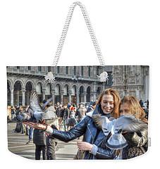 The Birds Of Milan Weekender Tote Bag