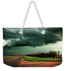 The Birth Of A Funnel Cloud Weekender Tote Bag