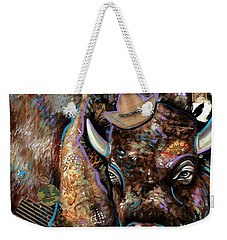 The Bison Weekender Tote Bag