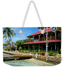 Weekender Tote Bag featuring the photograph The Bitter End Yacht Club by Adam Romanowicz