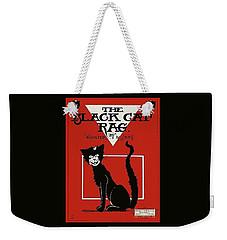 The Black Cat Rag 1905 Sheet Music Art Weekender Tote Bag