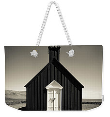 Weekender Tote Bag featuring the photograph The Black Church by Edward Fielding