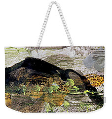 The Black Mountain Weekender Tote Bag by Nancy Kane Chapman