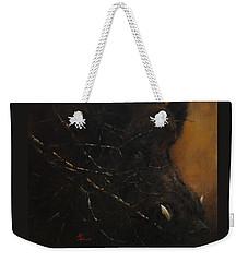 The Black Wildboar Weekender Tote Bag