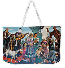 The Blessing Of Animals Olvera Street Weekender Tote Bag