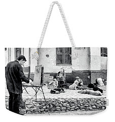 The Blind Side Weekender Tote Bag