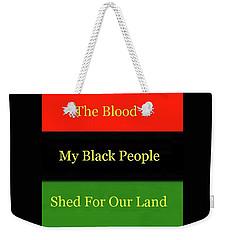 The Blood Weekender Tote Bag