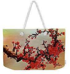 The Bloom Of Cherry Blossom Weekender Tote Bag