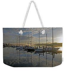 The Blue And Beyond Weekender Tote Bag by Suzy Piatt