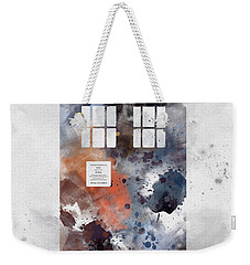 The Blue Box Weekender Tote Bag by Rebecca Jenkins