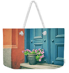 The Blue Door Weekender Tote Bag
