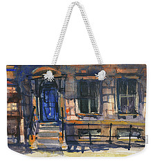 The Blue Door, New York Weekender Tote Bag