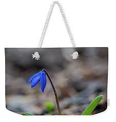 The Blue Flower Weekender Tote Bag