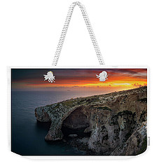 The Blue Grotto Weekender Tote Bag