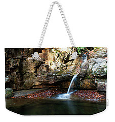The Blue Hole In November #2 Weekender Tote Bag by Jeff Severson