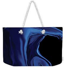 The Blue Kiss Weekender Tote Bag by Rabi Khan