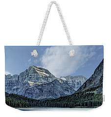 The Blue Mountains Of Glacier National Park Weekender Tote Bag