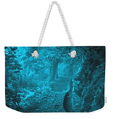 The Blue Path Weekender Tote Bag