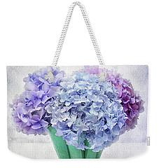 The Blue View Weekender Tote Bag