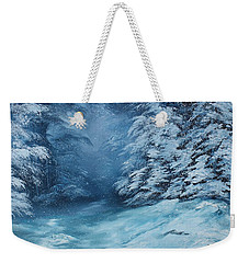 The Blue Forest Weekender Tote Bag