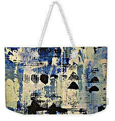The Blues Abstract Weekender Tote Bag