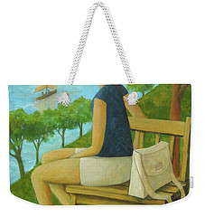 The Bluff Weekender Tote Bag by Glenn Quist