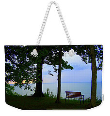 The Bluffs Bench Weekender Tote Bag
