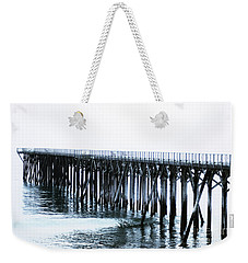 The Boardwalk At San Simeon Weekender Tote Bag