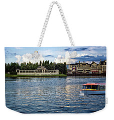 The Boardwalk Gazebo Walt Disney World Mp Weekender Tote Bag