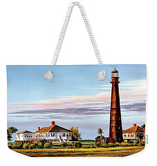 The Bolivar Lighthouse Weekender Tote Bag