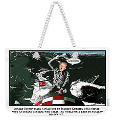 Chapter 19 The Bomb Weekender Tote Bag by Joe  Palermo