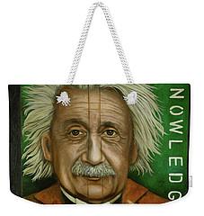 The Book Of Knowledge  Weekender Tote Bag