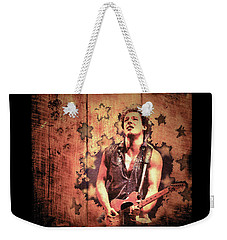 The Boss 1985 Weekender Tote Bag by Paula Ayers