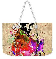 The Boss Grunge Weekender Tote Bag