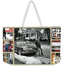 The Boss Mr Bruce Springsteen Weekender Tote Bag