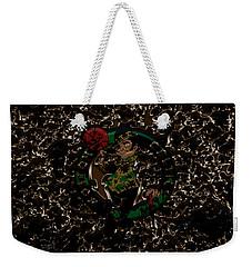 The Boston Celtics 1b Weekender Tote Bag by Brian Reaves