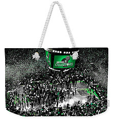 The Boston Celtics 2008 Nba Finals Weekender Tote Bag by Brian Reaves